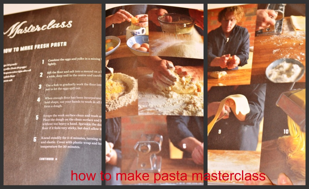 how to make pasta by adrian richardson