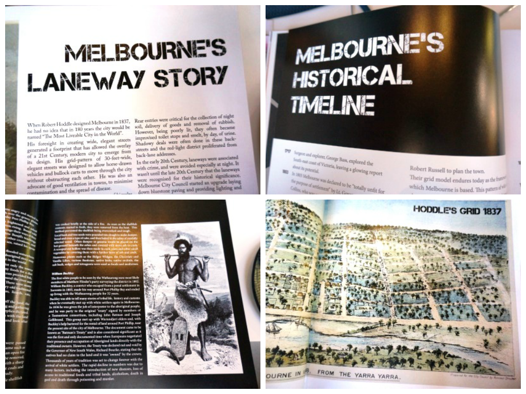 Flavours of Melbourne : history