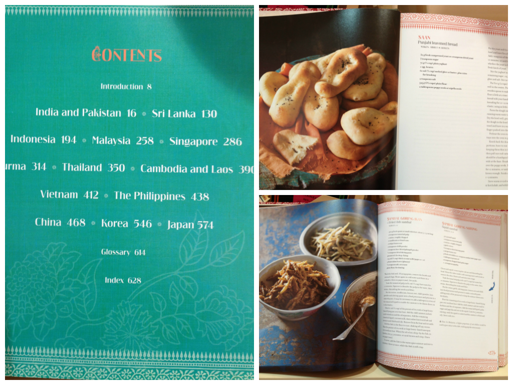 The Complete Asian Cookbook contains all the cuisines