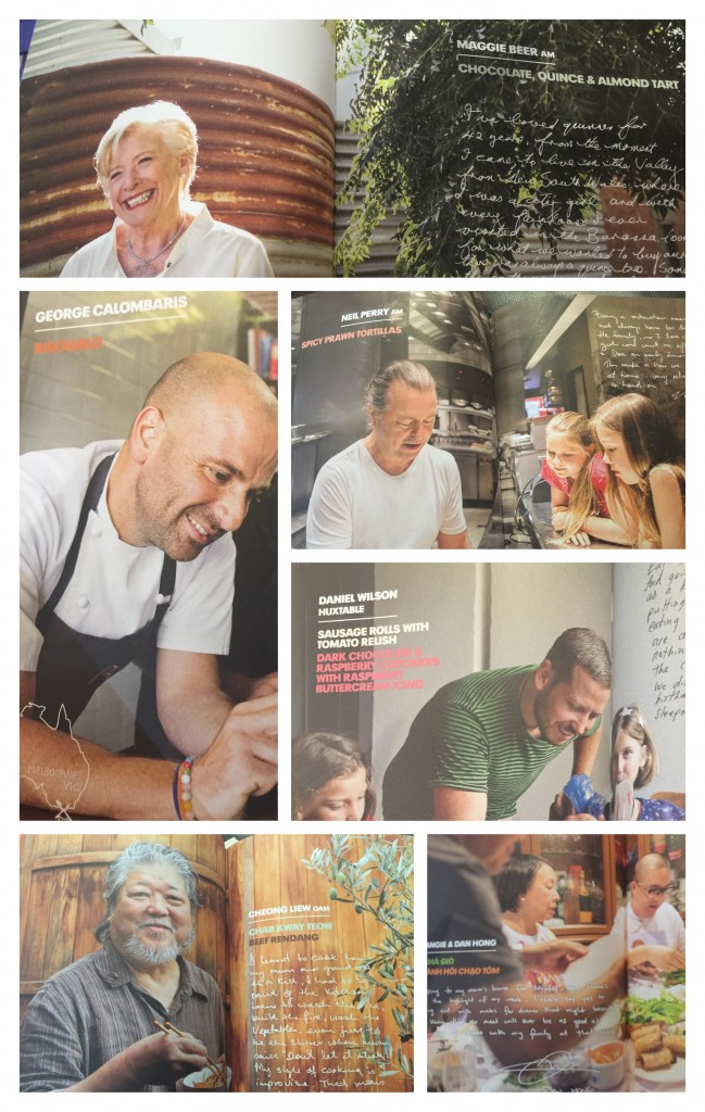 Maggie Beer, George Calombaris, Neil Perry AM, Cheong Liew, Dan Hong